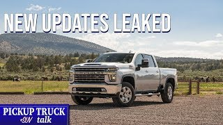 What to Expect - 2021 Chevrolet Silverado HD, GMC Sierra HD Updates