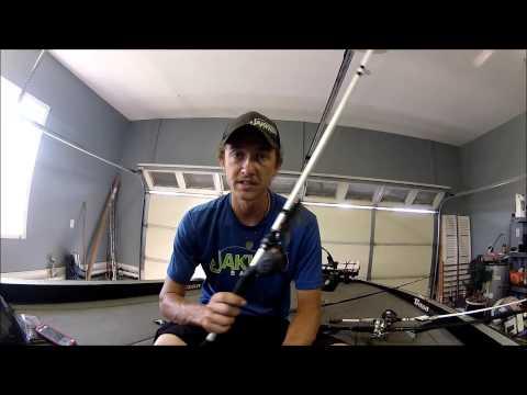how to set up a basic fishing rod