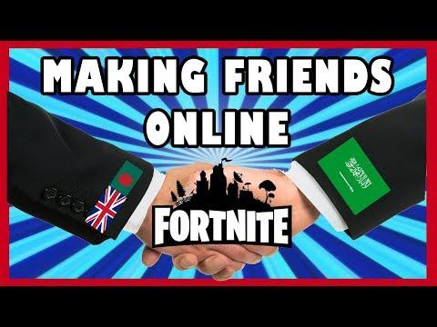 Making Friends Online | Ep.1 Saudi Arabia | Fortnite