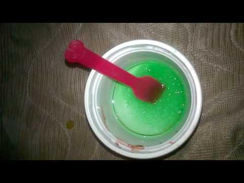 cara bikin slime dengan 1 bahan saja!!!gampang dan mudah