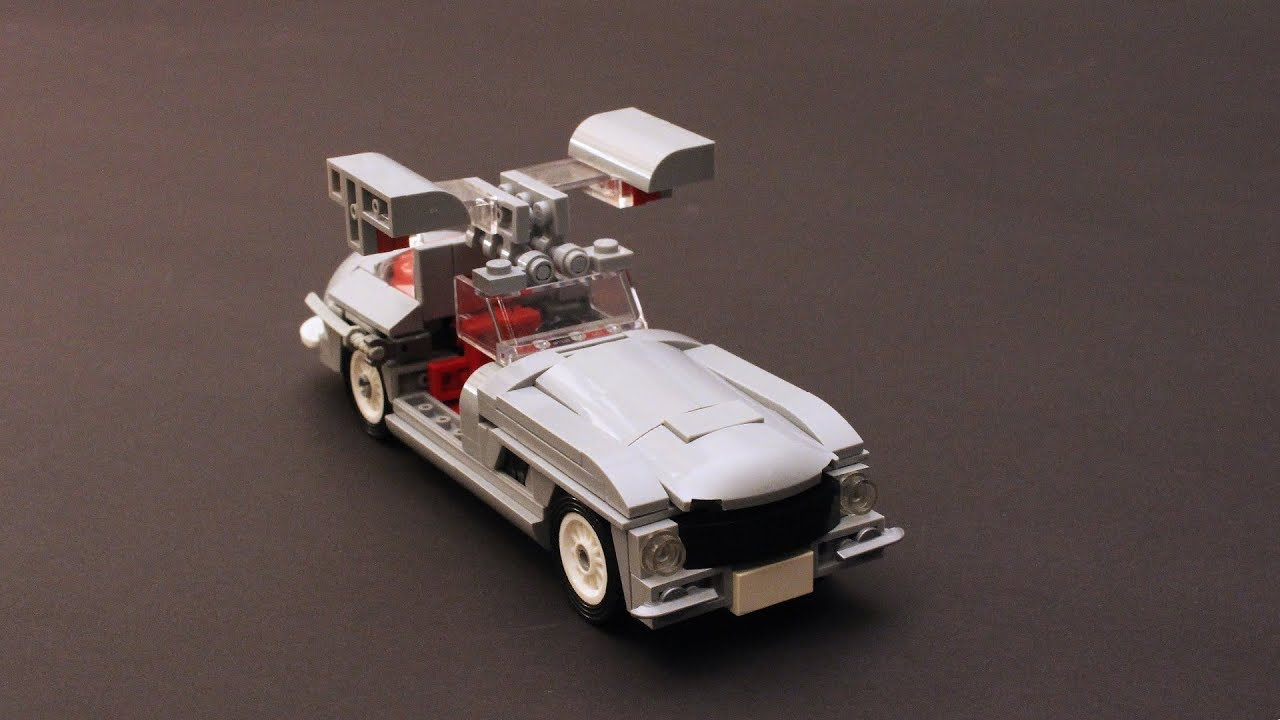 How to build a mercedes benz 300 sl with lego tutorial for Build my mercedes benz