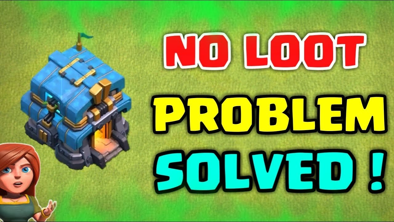 Not Getting Loot After Townhall 12 Update !? Problem Solved !