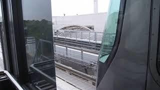 神戸新交通ポートライナー 2000型2104F 市民広場発車