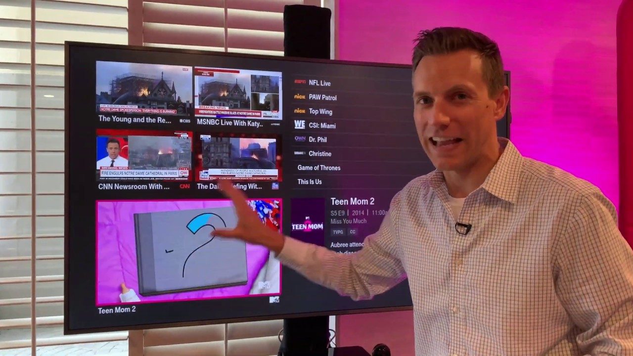 Hands on with T-Mobile's New TV Service Called TVision | KTLA