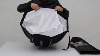 TRIOPO Quick Collapse Flash Softbox   55cm 21 6in Hexagon for ALL kinds of Camera flash light  jpg