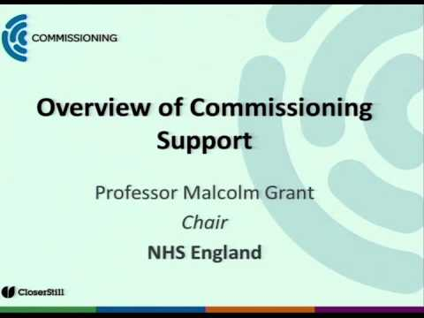 Overview of Commissioning Support