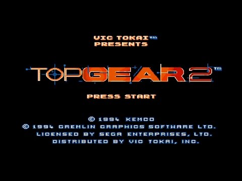 "Прохождение ""Top Gear 2"" (Sega Genesis / Sega Mega Drive) HD"