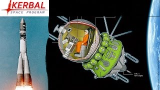 [KSP 1.2] First man in Space [Yuri Gagarin] Aboard Vostok 1 (Tribute)
