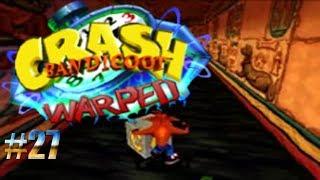 Deslizando en un piso aceitoso/Crash Bandicoot: Warped #27