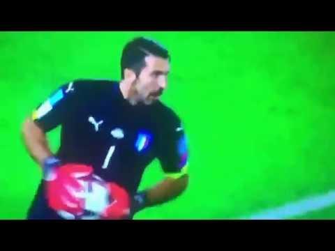 "Intervista Gigi Buffon  Post Partita Italia ""Macedonia Italia"" 2-3"