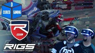 VIRTUAL REALITY MECH BATTLES - Rigs Mechanized Combat League - PSVR Gameplay