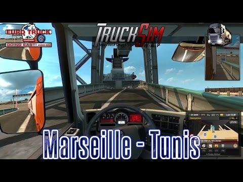 ETS 2 TruckSim Map   Marseille Tunis