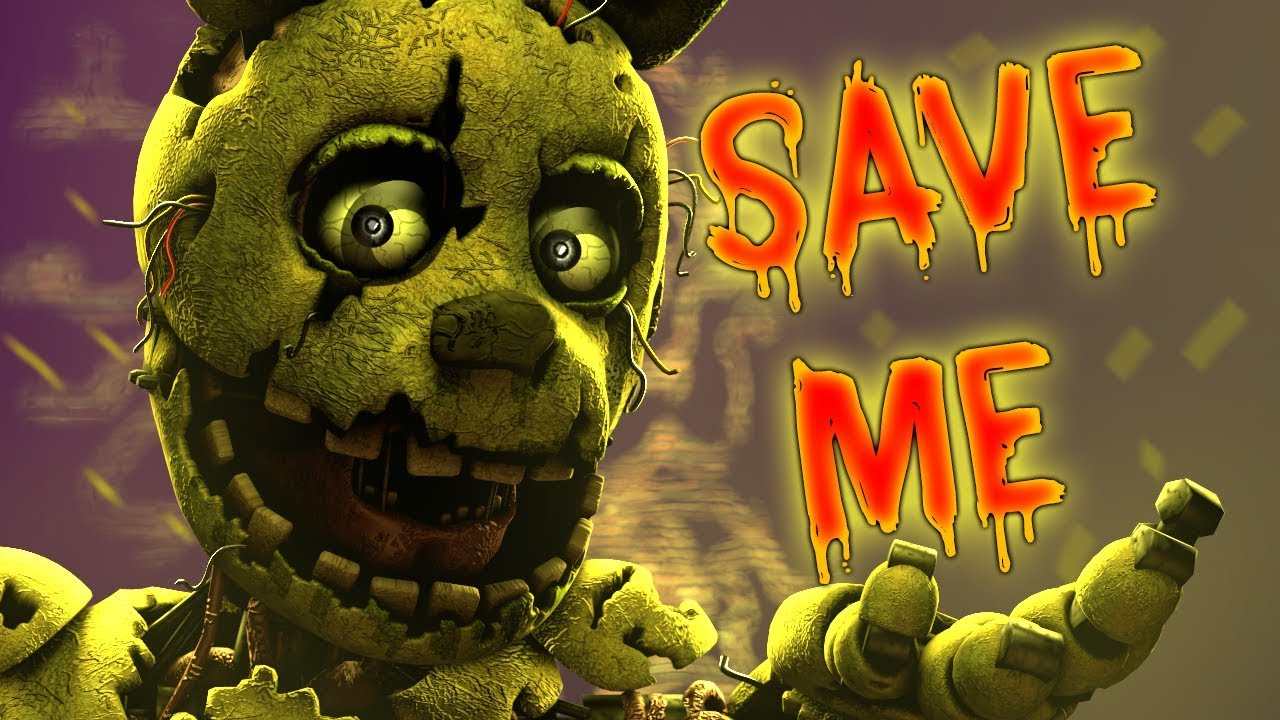 Fnaf Song Save Me By Dheusta Ft Chris Commisso Youtube