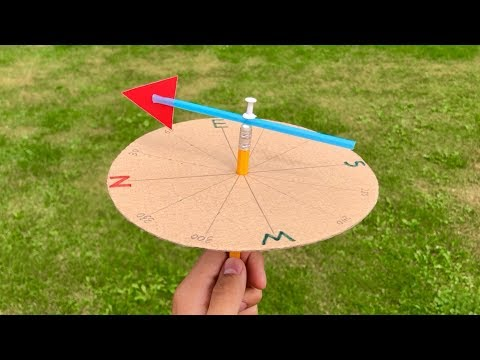 How to Make a Wind Vane - School Project for Kids