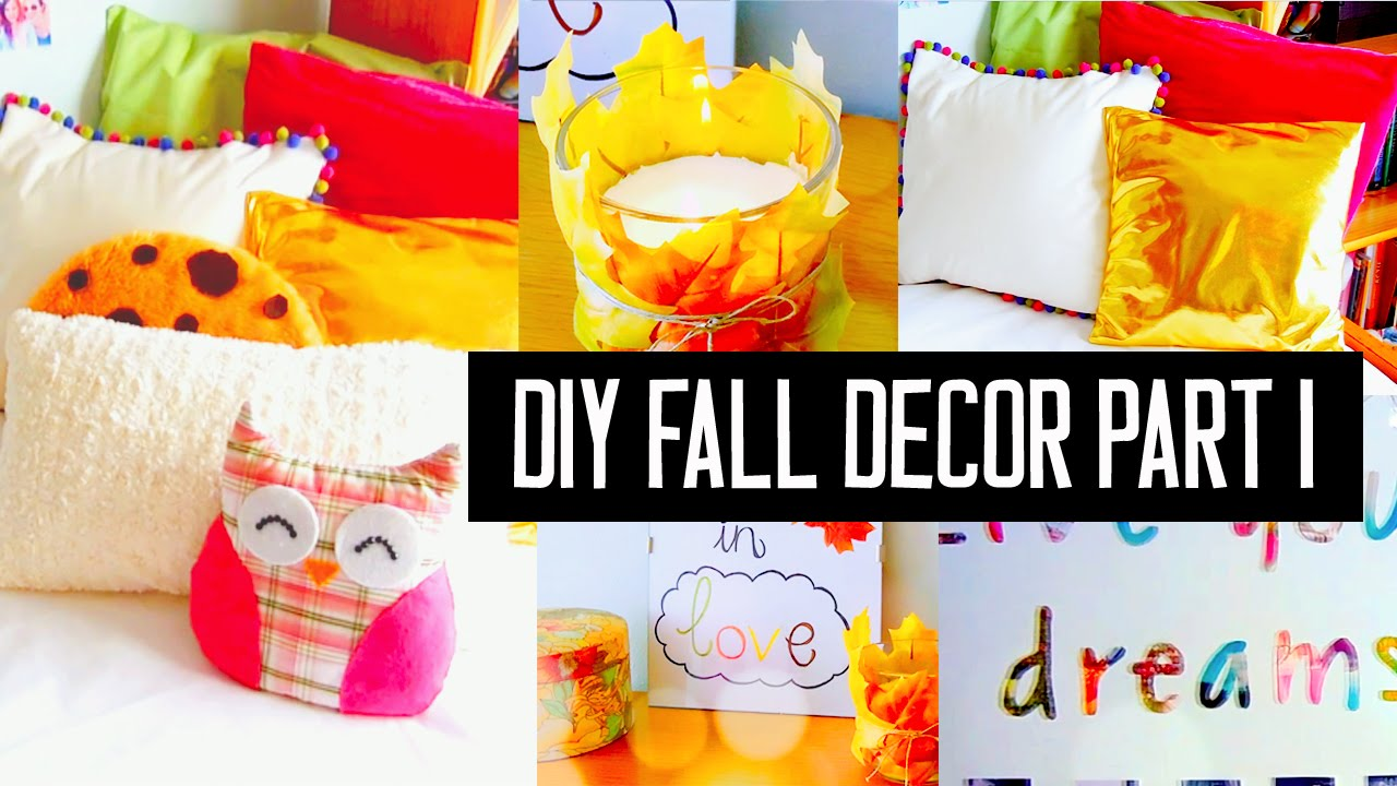 Diy Room Decor For Fall Spice Up Your Room No Sew