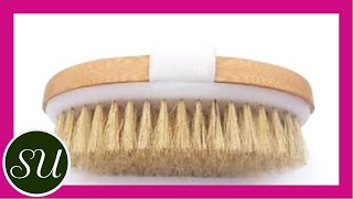 Dry Skin Brushing: What Is It & How To Do It | Anti-aging, lymphatic draining, smooth skin