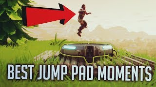 Fortnite Battle Royale Best Jump Pad Moments Episode. 1