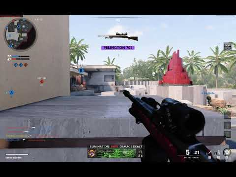 Call Of Duty Cold War : Triple kill with sniper