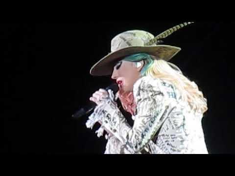 Lady Gaga - Angel Down - Fenway Park, Boston MA - September 1, 2017