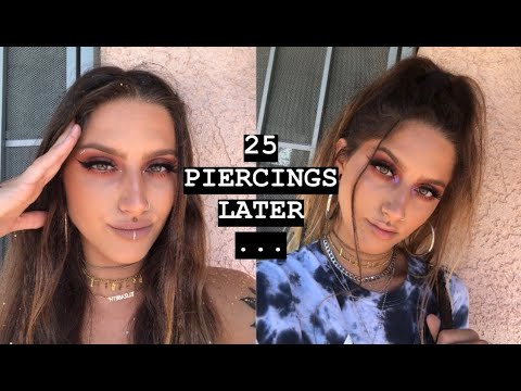 ALL About MY Piercings: Which I've Had, HORROR Stories, + More!