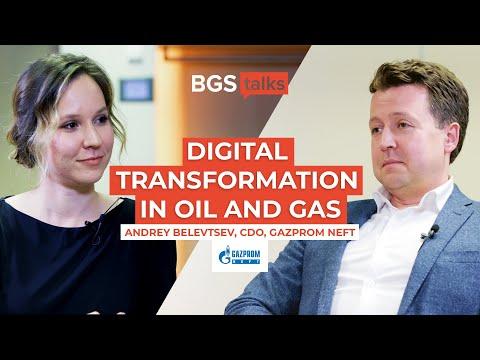 Gazprom Neft's CDO on Digital Transformation Strategy: Interview with Andrey Belevtsev, BGS Talks #9