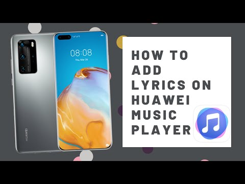How To Add Lyrics On Huawei Y6 Pro 2019 Music Player