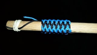 How to Tie a Long Gaucho Fan Knot