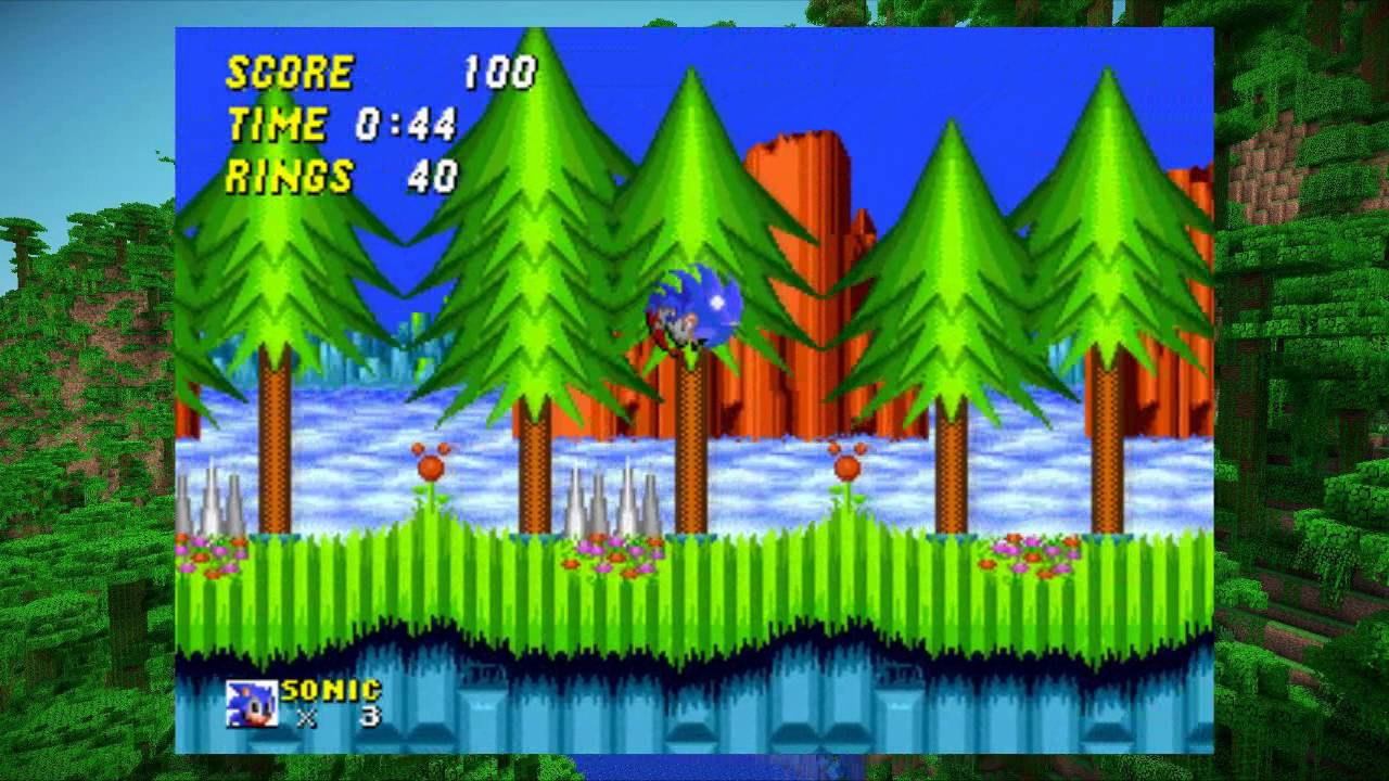 Minecraft x Sonic The Hedgehog 8 - Hill Top Zone Remix
