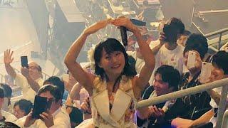 2018年8月1日 横浜アリーナ 坂口渚沙(AKB48 チーム8)推し席より撮影 【...