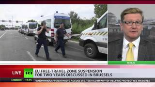 End of Schengen? EU ministers consider suspension of free travel zone