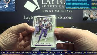 2018 National Treasures Football 2 Box Break for John E