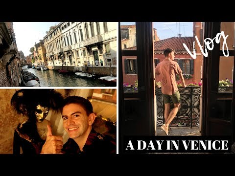 A DAY IN VENICE, ITALY | MR CARRINGTON TRAVEL VLOG