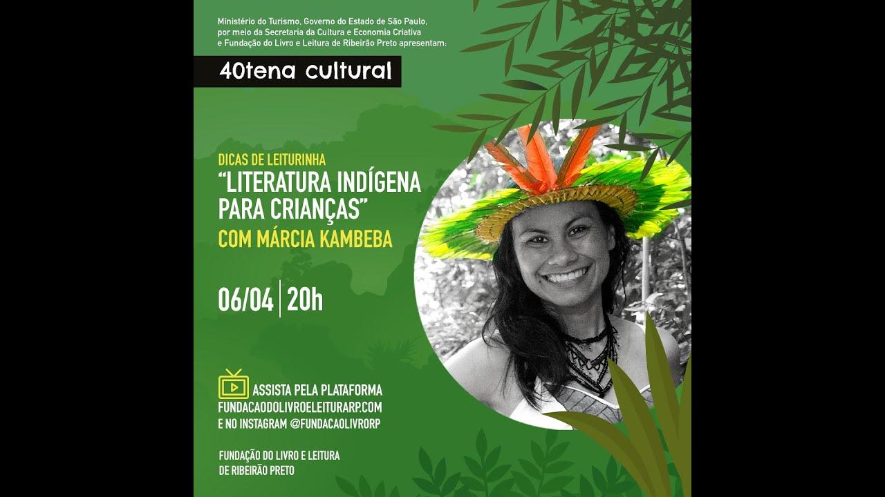"""""""Nós, escritores indígenas, compartilhamos pontos e interligamos pontes"""", disse Márcia Kambeba"""