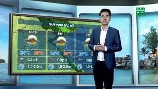 Thời tiết biển 17/10/2018: Vùng biển Bình Thuận đến Cà Mau có mưa dông kèm theo lốc xoáy | VTC14