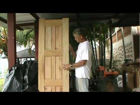 How To Make A Six Panel Door Youtube