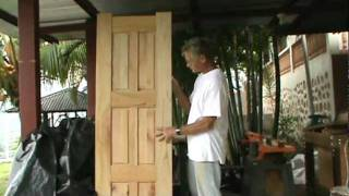 How To Make A Six Panel Door