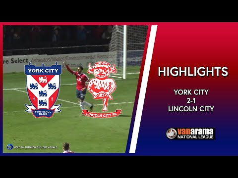 HIGHLIGHTS: York City 2-1 Lincoln City (14/03/2017)