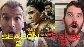 The Family Man S2 E09 FINALE!!!   REACTION!!