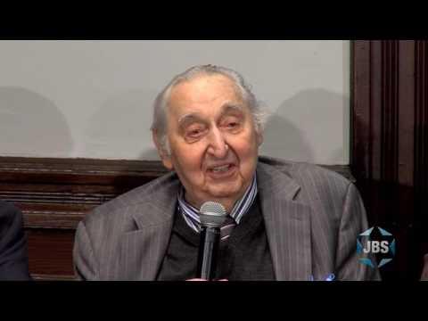 Fyvush Finkel honored by the Brooklyn Jewish Historical Initiative