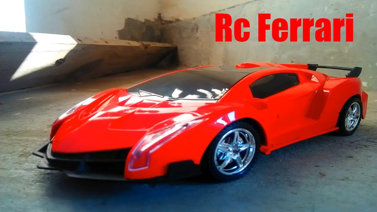 rc adventure - unboxing and testing 1/20 scale ferrari remote