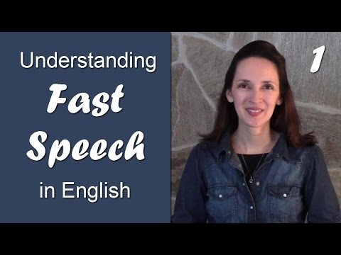 Day 1 - Linking Consonant to Vowel - Understanding Fast Speech in English