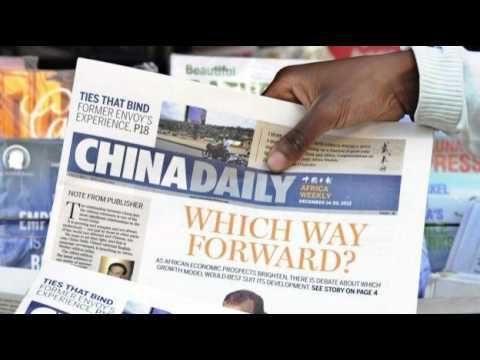 China working hard to challenge West's news narratives in Af