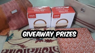 Giveaway prizes | Giveaway 2019(march 18-may2) | special gift-Tamil Health & Fitness care