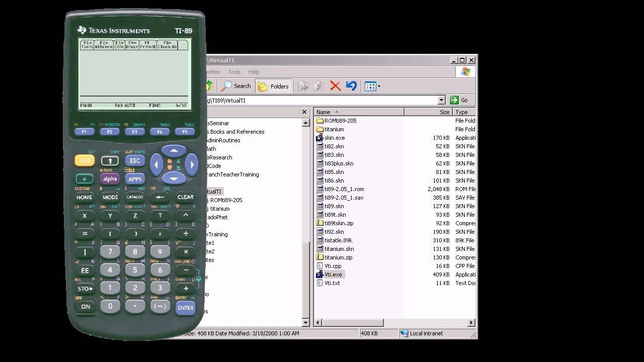ti 89 titanium emulator windows