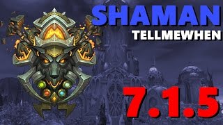 Shaman TMW Profile for Patch 7.1.5 w/Download