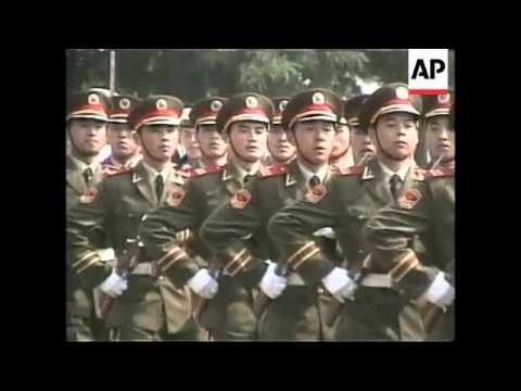 CHINA: BEIJING: US PRESIDENT CLINTON MEETS JIANG ZEMIN (2)