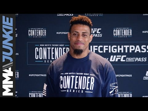 Greg Hardy wants to leave no doubt he belongs in the UFC