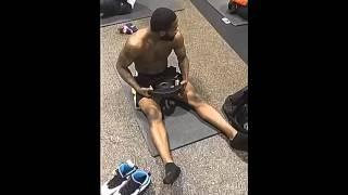 Adrien Broner workout