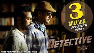 Detective Official Trailer (Telugu) | Vishal, Prasanna, Andrea, Anu Emmanuel | Mysskin