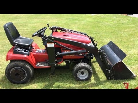 Toro Wheel Horse 520lxi Riding Lawn Mower Tractor Youtube
